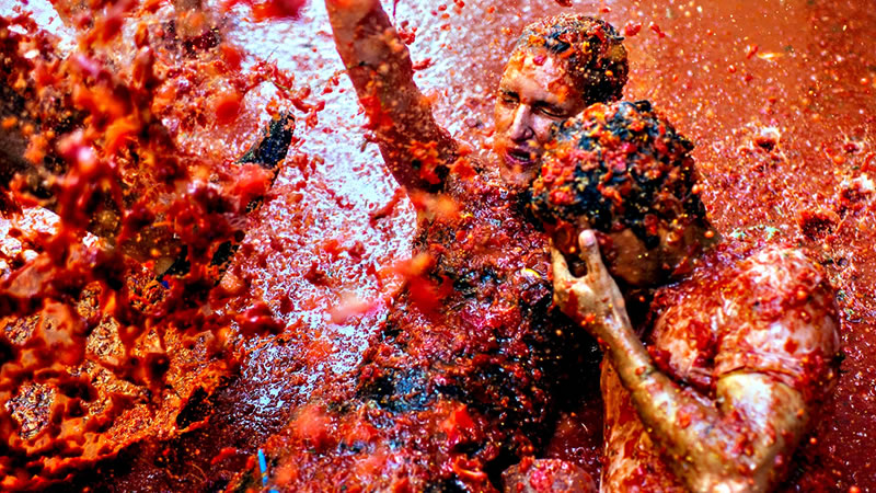 Euromotorhome® - 12 months 12 trips in motorhome - Tomatina